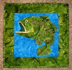 paper pieced fish patterns | Tessellating Fish Paper Pieced Quilt Pattern | Quilting Patterns