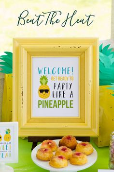 Beat the heat with new summer party themes by MKKM Designs
