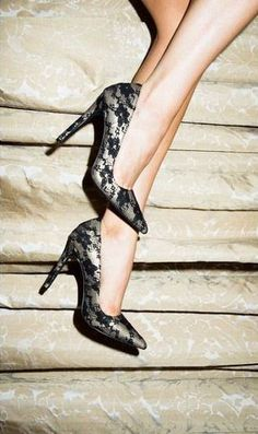 Adelice Lace Heel