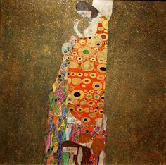 Hope II ~ Gustav Klimt