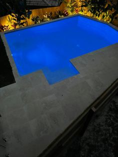 Building A Swimming Pool, Swimming Pools, Night Time, Outdoor Decor, Home Decor, Swiming Pool, Pools, Decoration Home, Room Decor