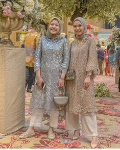 Kebaya Modern Hijab, Model Kebaya Modern, Kebaya Hijab, Kebaya Muslim, Kebaya Lace, Kebaya Dress, Batik Kebaya, Hijab Dress Party, Hijab Style Dress