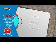 Learn How To Make Your Own Religious Logo In Photoshop Church Logo, Make Your Own, Make It Yourself, Logo Design, Photoshop, Learning, Logos, Youtube, Pictures