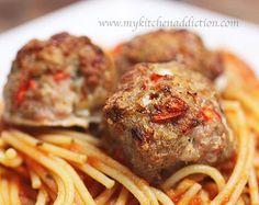 Asiago Turkey Meatballs