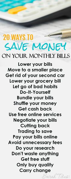 There are a myriad of ways you can save money on your monthly bills. This article will show you many of those ways! Check it out!