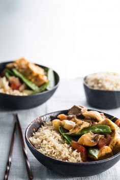 Sweet and sour tofu with vegetables | Eat Good 4 Life
