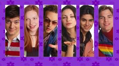 """""""That '70's Show"""" ..... Eric, Donna, Hyde, Jackie, Fez and Kelso"""