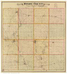 Map of McGregor Iowa 1869; Antique Birdseye Map; Custom Printed