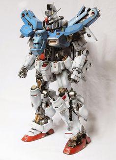 PG 1/60 GP-01 Gundam 'Open Hatch' - Custom Build     Modeled by Acoustics