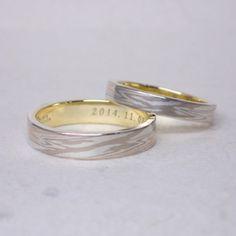 Mokumegane Wedding Ring 木目金屋の結婚指輪