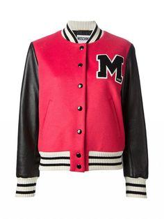 Moschino Varsity Bomber Jacket