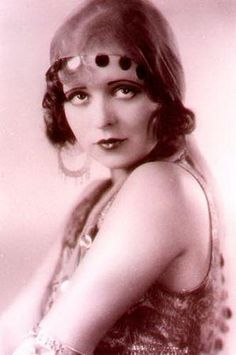 """Clara Bow: """"Her voice was not the silky smooth one sought after by many actors of the time, but still a unique one that drew the ears of those who heard it. Yet what she was most known for was for being the first to hint at the existence of sex in film."""""""