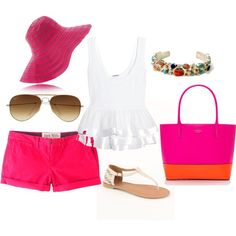 Pink accent by erin-elise-beck on Polyvore