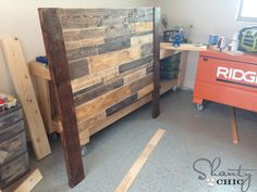 headboard-with-legs - need a new headboard and platform for the new king size