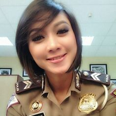 Dara #Indonesia #Beauty #Policewoman | Policewomen | Pinterest ...