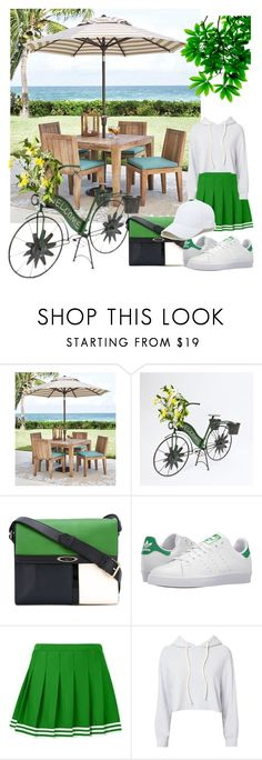 """""""Untitled #97"""" by tran-huong-giang-1 ❤ liked on Polyvore featuring Home Decorators Collection, Lanvin, adidas, Monrow and Sole Society"""