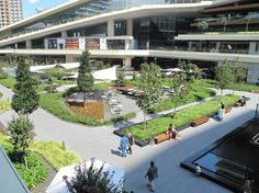 The award-winning mixed-use facility will host this year's International Green Roof Congress (Copyright: Onduline Avrasya). Green Roof System, Sustainable Development, Sustainability, Istanbul, Mansions, House Styles, Awesome, Design