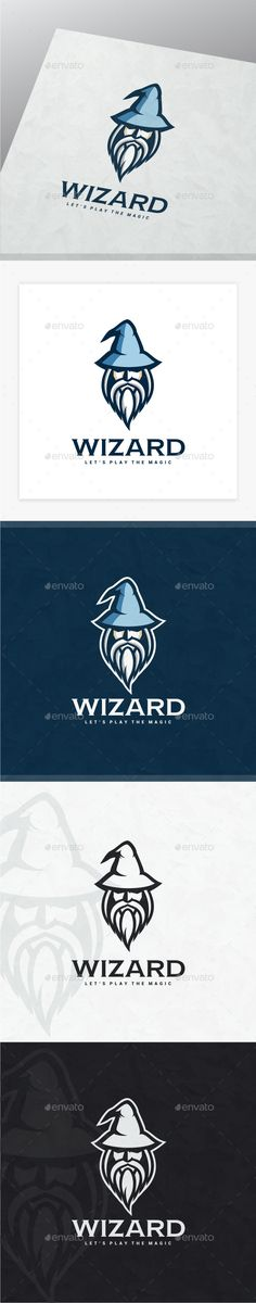 Wizard — Photoshop PSD #design #witch • Available here → https://graphicriver.net/item/wizard/18939822?ref=pxcr