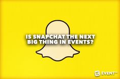 Snapchat is made for live events. Get on board or fall behind and find out the top 10 eventprofs to follow on Snapchat from the event industry.