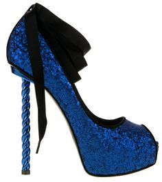 I want some Dukas shoes! Sexy Heels, Stiletto Heels, High Heels, Stilettos, Blue Heels, Heeled Boots, Shoe Boots, Shoes Sandals, Flats
