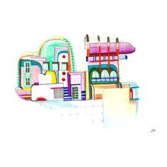 H O T E L .11 by #mademoiselle2bouche #hotel #color #holidays #miami
