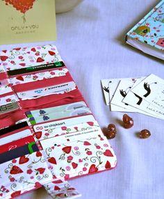 Un joli étui porte-cartes entièrement sur mesure !