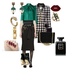 """Untitled #173"" by sh-66-sh on Polyvore featuring Moschino, Gucci, Dolce&Gabbana, Chanel, Tory Burch and Lime Crime"