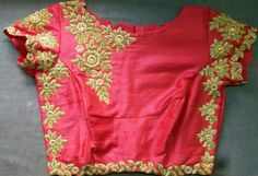 Rawsilk bloyse with zardosi work 7702919644
