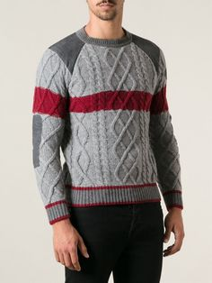 5 Sweater Jacket, Men Sweater, Hand Knitted Sweaters, Mens Jumpers, Cashmere Cardigan, Knitting Designs, Men Looks, Knitwear, Cool Outfits