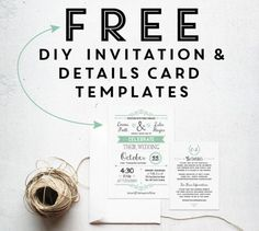 free printable wedding invitation templates - Free Printable Wedding Invitation Templates
