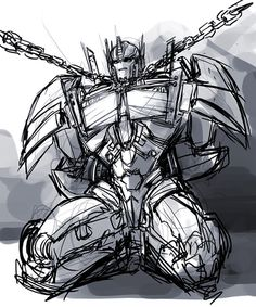 Optimus Prime // mmmm...Prime flavor...