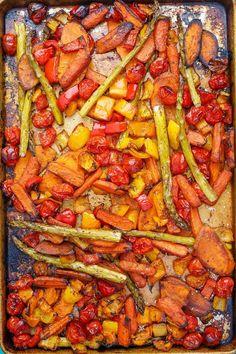 Balsamic Roasted Vegetables – Dan330