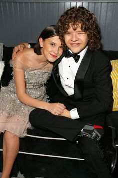 Millie Bobby Brown & Gaten Matarazzo Make Boys Day After No One Attends His Stranger Things Party Stranger Things Season 3, Stranger Things Funny, Eleven Stranger Things, Stranger Things Netflix, Millie Bobby Brown, Golden Globes After Party, Actors & Actresses, People, Most Beautiful