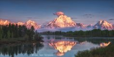 Photo Sunrise at Oxbow Bend by Michael Bandy on 500px