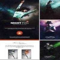 Night Fog V2 Action by GraphixRiver