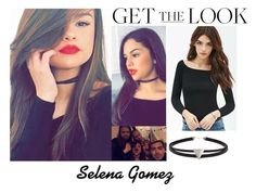 """""""Selena Gomez Snapchat February 23 2016"""" by valensmilerstyle ❤ liked on Polyvore featuring Forever 21"""