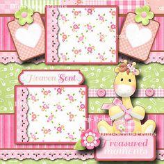 Making A Bridal Shower Scrapbook – Scrapbooking Fun! Baby Shower Scrapbook, Scrapbook Bebe, Baby Girl Scrapbook, Baby Scrapbook Pages, Scrapbook Templates, Scrapbook Journal, Scrapbook Page Layouts, Scrapbook Supplies, Scrapbook Cards