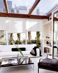 Techos transparentes: deja que la luz natural entre en casa #hogarhabitissimo