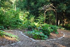Edible Garden at Garden in the Woods (from New England Wild Flower Society)