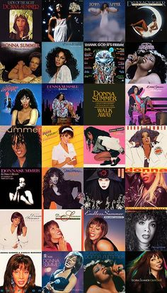 Donna Summer album covers