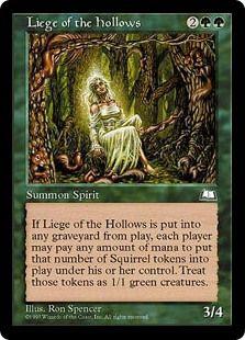 Squirrel Nest *Uncommon* Magic MtG x1 Conspiracy SP