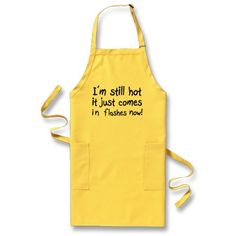 Women's Funny Aprons, Unique birthday gift jokes by Wise_Crack