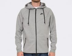#Nike Windrunner Tech Fleece 1M Grey
