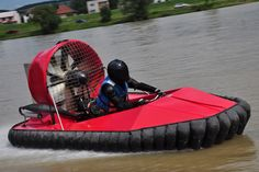 Experience a 1-hour hovercraft driving experience with Hoverdays, Oswestry.