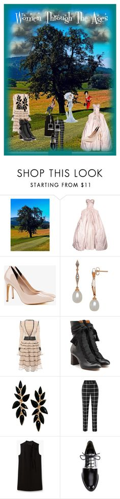 """""""Women Through The Ages"""" by jostockton ❤ liked on Polyvore featuring Thomas Kinkade, Zac Posen, Ted Baker, Lord & Taylor, Alexander McQueen, Chloé, Theory, 3.1 Phillip Lim and Kobelli"""