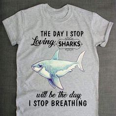 Sebastian needs this. Shark Shark, Shark Bait, Shark Week, Baby Shark, Save The Sharks, Shark T Shirt, Great White Shark, Marine Biology, Materialistic