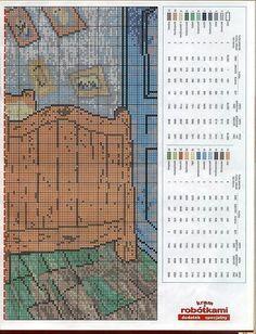 tengo muchos patrones de punto de cruz. (pág. 205) | Aprender manualidades es…
