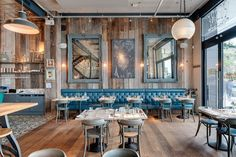 Factorylux extra-large industrial shades ight up the uber cool Le bistrot pierre…