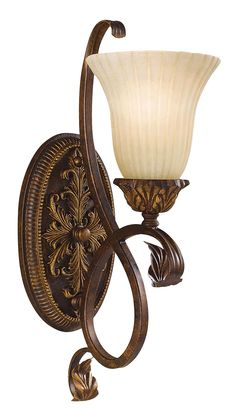 "Sonoma Valley Collection 18"" High Wall Sconce - $157, LAMPS PLUS, 18"" H  X  6"" W X 9"" FROM WALL, ONE 100 WATT BULB, FEISS ITEM #81546, OTHER COORDINATING PIECES"