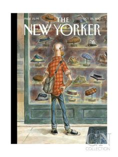 Premium Giclee Print: Top Choice - The New Yorker Cover, October 2013 by Peter de Sève : The New Yorker, New Yorker Covers, Print Magazine, Magazine Art, Magazine Covers, Arte Horror, Vintage Magazines, Journal, Cover Art